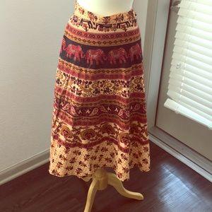 Dresses & Skirts - Hippy Wrap Skirt!